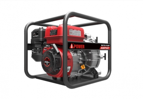 products/Бензиновая мотопомпа для грязной воды A-iPower AWP50T, арт. 30221