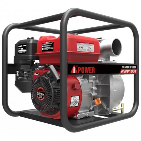 products/Бензиновая мотопомпа для грязной воды A-iPower AWP100T, арт. 30241