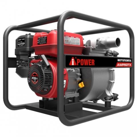 products/Бензиновая мотопомпа для сильнозагрязненной воды A-iPower AWP50TX, арт. 30321