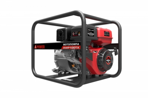 products/Мотопомпа бензиновая для сильно загрязненной воды A-iPower AWP100TX, арт. 30341
