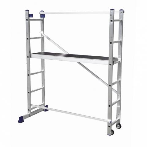 products/Алюминиевая лестница-помост 3 В 1, Россия, арт. 97970