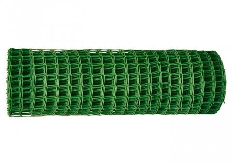 products/Решетка заборная в рулоне, 1 х 20 м, ячейка 15 х 15 мм, пластиковая, зеленая, Россия, арт. 64512