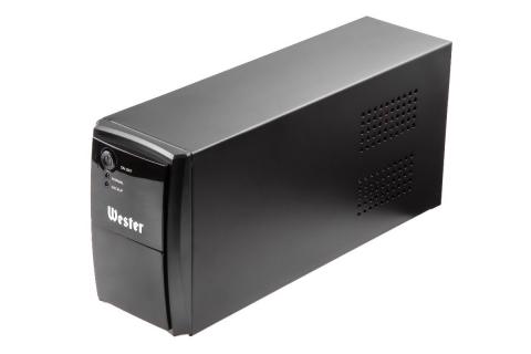 products/601977 Источник бесперебойного питания Wester UPS650 650 ВА, 2 розетки, линейно-интерактивный