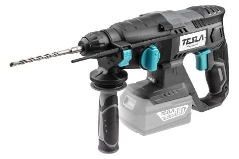 products/Аккумуляторный перфоратор TESLA TD18DC TO (597883) без АКБ и ЗУ 18 В  LiI-ON SDS+ 20 мм  0-1500 об/мин 1,9 Дж 3 режима