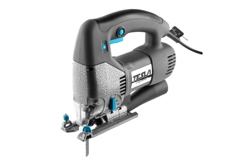 products/Лобзик TESLA TJ700PQ (621375) 700 Вт 0-3000 ход/мин 100 мм- дерево 10 мм - металл маятник, кейс