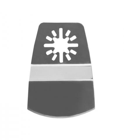 products/Насадка для МФИ шабер полукруг, Inox, для снятия краски и др., ширина 50 мм, длина общая 74 мм, ступенчатый Denzel 782317