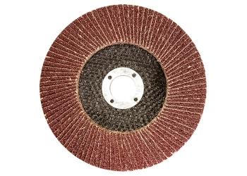 products/Круг лепестковый торцевой, P 100, 125 х 22,2 мм MATRIX