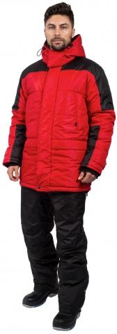 products/Куртка зимняя Европа (тк.Дюспо), красный/черный