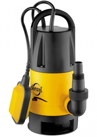 products/Дренажный насос Denzel DP900, 900 Вт, подъем 8,5 м, 14000 л/ч (арт. 97223)