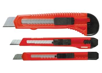 products/Набор ножей, выдвижные лезвия, 9-9-18 мм, 3 шт. MATRIX