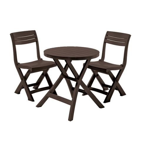 products/Набор балконной мебели Keter Jazz Set коричневый арт. 251037