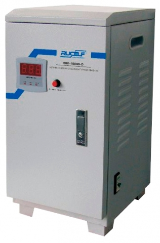 products/Стабилизатор напряжения релейный RUCELF SRV- 15000-D