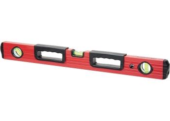 products/Уровень алюминиевый, 2000 мм, фрезерованный, 3 глазка, 2 эргономичные ручки MATRIX