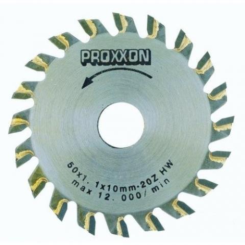 products/Диск с твердосплавными накладками Proxxon, (d=50 мм) 20 зубьев