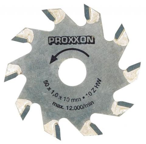 products/Диск с твердосплавными накладками Proxxon, (d=50 мм) 10 зубьев
