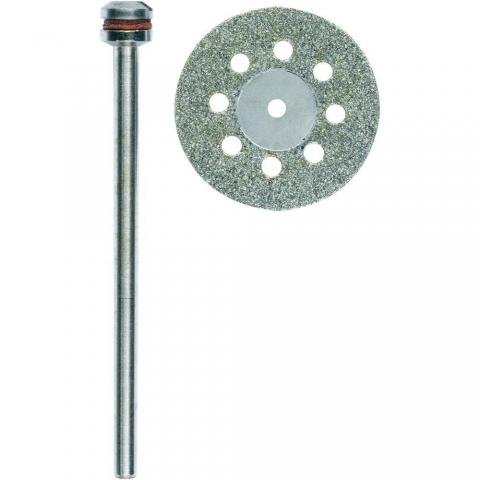 products/Алмазный отрезной диск Proxxon 28844 с вентиляционными отверстиями 20 мм
