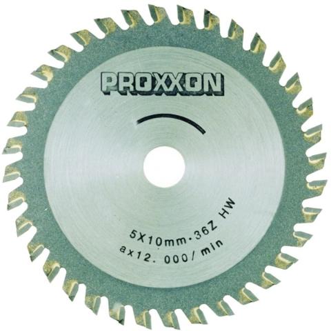 products/Диск с твердосплавными накладками Proxxon 28732, 80 мм, 36 зубьев