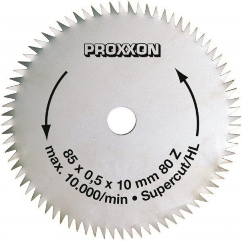 "products/Диск Proxxon ""Supercut"", 85 мм, 80 зубьев 28731"
