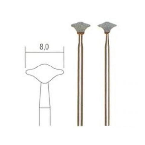 products/Кремний-карбид.боры для гравир.по стеклу, керам.(линза, 2 шт.,? 8мм)