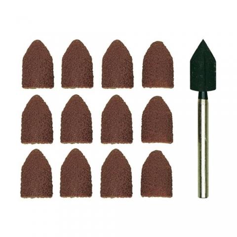 products/Шлиф. конусы с держателем Proxxon (диаметр 8 мм, зерн. К 80 и К150 по 5 шт.)