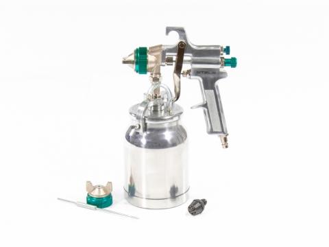 products/Краскораспылитель Stels AS 702 HP профессиональный  всасывающего типа сопло 1,8 мм и 2,0 мм (арт.57364)