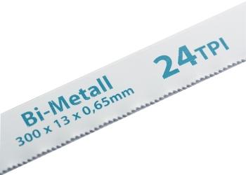 products/Полотна для ножовки по металлу, 300 мм, 24TPI, BIM, 2 шт. GROSS