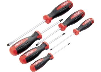 products/Набор отверток,сталь S2, двухкомпонентные рукоятки, 6 шт., MATRIX PROFESSIONAL 13303
