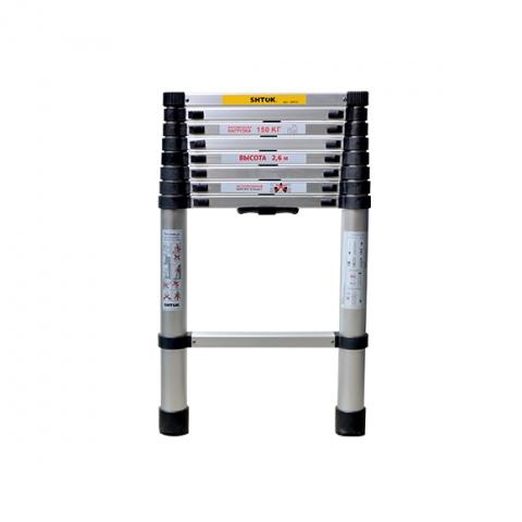 products/ Лестница телескопическая 2.6м (без чехла) SHTOK 20012