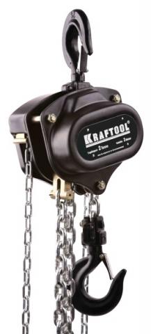 products/Таль цепная KRAFTOOL шестеренная, 2т / 3м, 43087-2