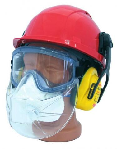 products/Щиток защитный РОСОМЗ™ PANORAMA к очкам закрытым, 00777, Факел арт. 87473022