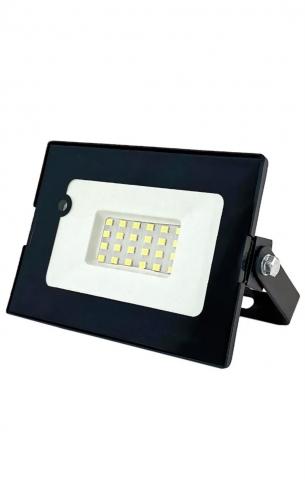 products/Светодиодный прожектор c датчиком движения GLANZEN 30Вт FAD-0012-30-SL 6500K IP65