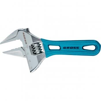 products/Ключ разводной, 250 мм,CrV, укороченная ручка //GROSS