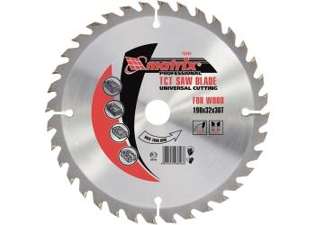 products/Пильный диск по дереву, 255 х 32мм, 72 зуба + кольцо 30/32 MATRIX Professional