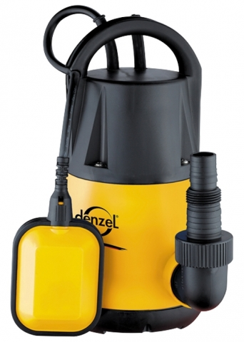 products/Дренажный насос Denzel DP250, 250 Вт, подъем 6 м, 6000 л/ч (арт. 97221)