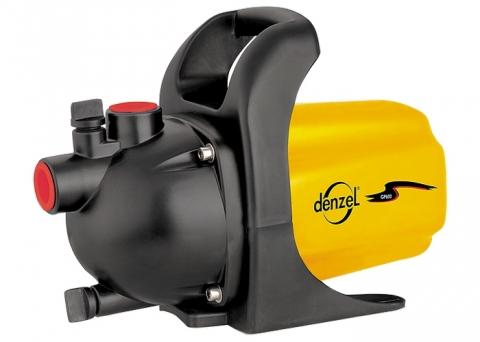 products/Садовый поверхностный насос Denzel GP600 600 Вт, 3000 л/ч, подъем 35 м, пластик (арт. 97201)