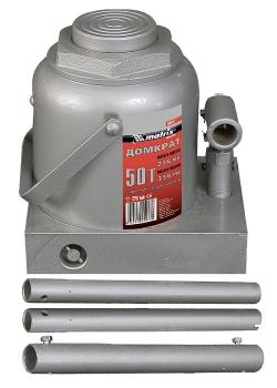 products/Домкрат гидравлический бутылочный, 12 т, h подъема 230–465 мм MATRIX MASTER 50727