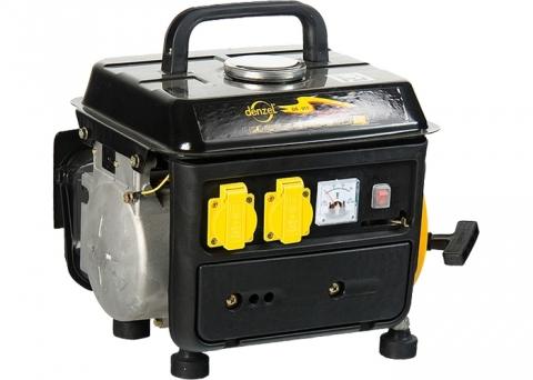 products/Генератор бензиновый Denzel DB950, 0,75 кВт, 220В/50Гц, 4 л, ручной пуск (арт. 94650)