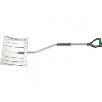 products/Лопата снеговая, 465 х 340 мм, металлический изогнутый обрез черенок, алюминиевый ковш PALISAD