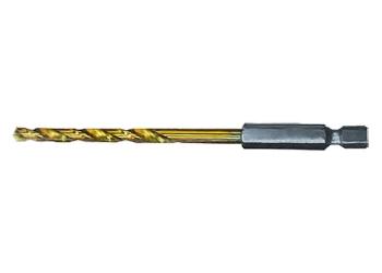 products/Сверло по металлу, 3 мм, HSS, нитридтитановое покрытие, 6-гранный хвостовик MATRIX