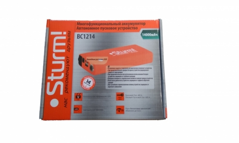 products/Автономное пусковое устройство Sturm! BC1214