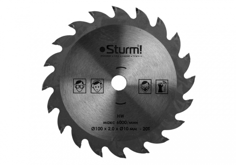 products/Пильный диск Sturm! CS5010Li-990 100х10х20Т для CS5010Li