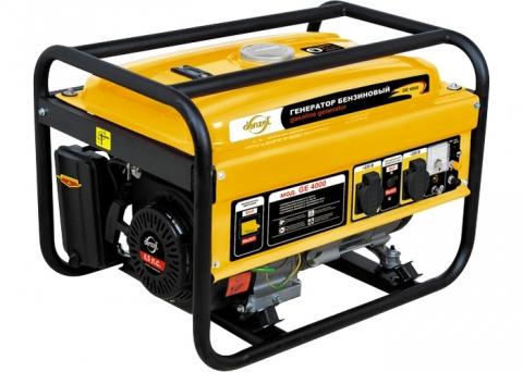 products/Генератор бензиновый Denzel GE 2500 2,5 кВт, 220В/50Гц, 15 л, ручной старт (арт. 94681)