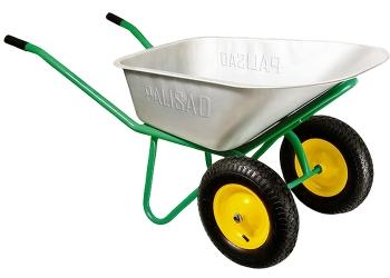 products/Тачка строительная, 2-х колесная, усиленная, грузоподъемность 320 кг, объем 100 л PALISAD
