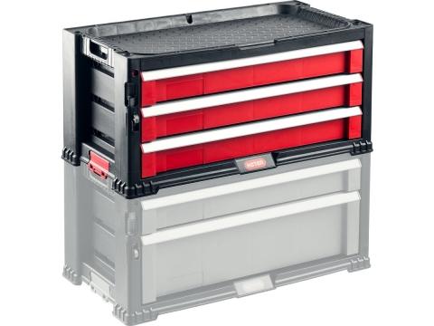 products/Ящик Keter с 3 выдвижными ящиками 17199302
