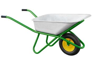 products/Тачка садово-строительная, усиленная, грузоподъемность 200 кг, объем 90 л PALISAD