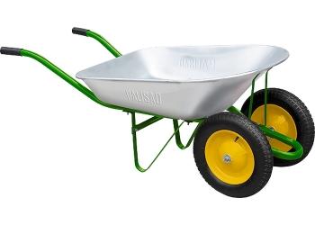 products/Тачка садовая, два колеса, грузоподъемность 170 кг, объем 78 л PALISAD