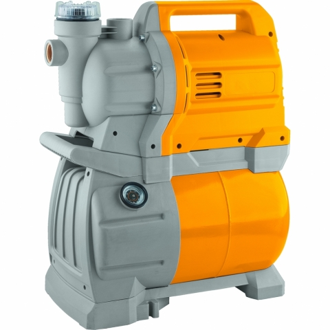 products/Насосная станция Denzel PSX1300 X-Pro, 1300 Вт, 4500 л/ч, ресивер 24 л, подъем 48 м (арт. 97213)
