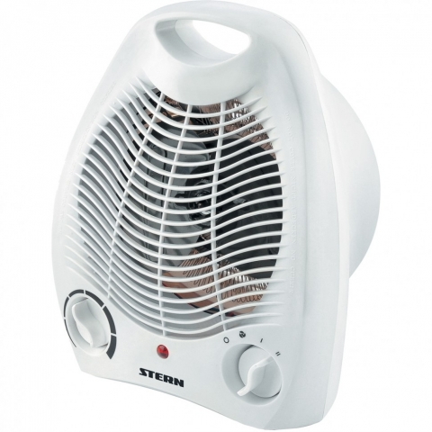 products/Тепловентилятор электрический, спиральный BH-2000, 3 режима, вентилятор, нагрев 1000-2000 Вт Stern (96412)