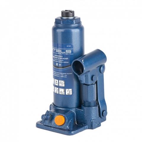 products/Домкрат гидравлический бутылочный, 2 т, H подъема 181-345 мм, в пластиковый кейсе, Stels (51121)