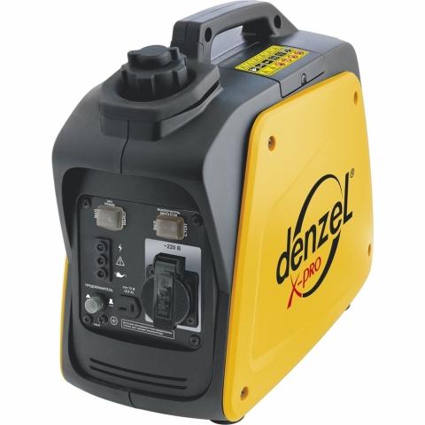 products/Генератор инверторный Denzel GT-950i X-Pro 0,9 кВт, 220В, бак 2,1 л, ручной старт (арт. 94640)